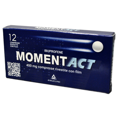Moment Act 400mg 12 compresse rivestite