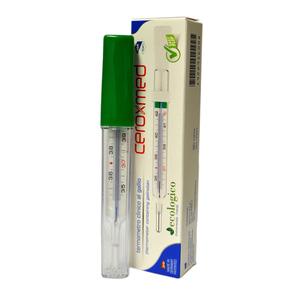 Ceroxmed Termometro Clinico Al Gallio Farmaself Farmacia Online A Casa Tua Con Un Clic Termometro pratico e di piccole dimensioni, per utilizzo rettale, ascellare o orale. ceroxmed termometro clinico al gallio