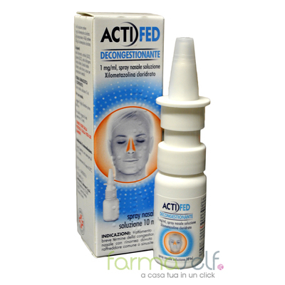 Actifed Decongestionante Spray Nasale 10ml