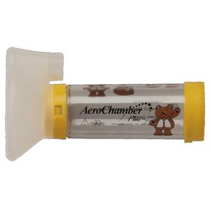 Aerochamber plus bambini aerochamber plus maschera per for Chambre d inhalation