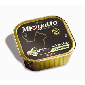 MioGatto Indoor Light per Gatti Sedentari 100g