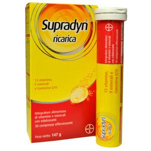 supradyn ricarica  Supradyn Ricarica 30 compresse effervescenti - Farmaself Farmacia ...