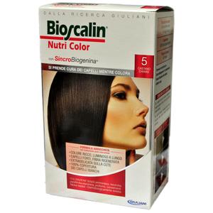 Bioscalin Nutri color 5 Castano chiaro New - Farmaself Farmacia ... a00aea3a4ab5