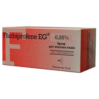 Flurbiprofene EG Spray 15ml