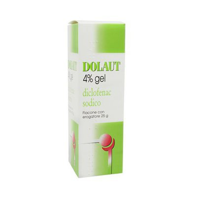 Dolaut Gel Spray 40mg/g 25g