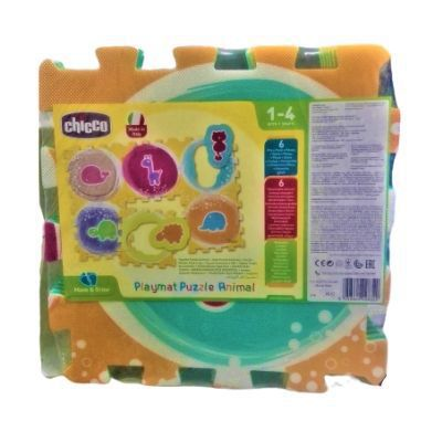 Chicco Gioco Move'nGrow Tappeto Puzzle Animali