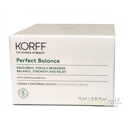 Korff Perfect Balance Crema Contorno Occhi 15ml